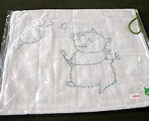 刺し子雑巾