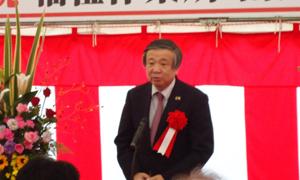 夏野修砺波市長